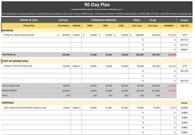 90 Day plan screenshot short