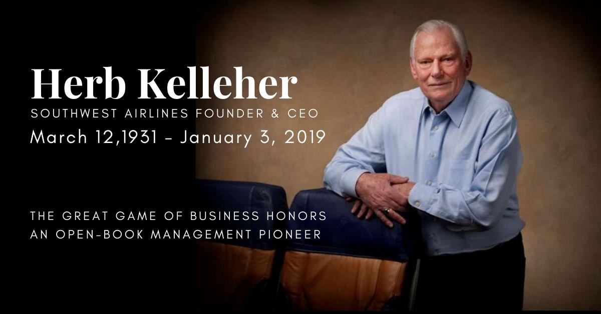 Herb Kelleher - Blog header
