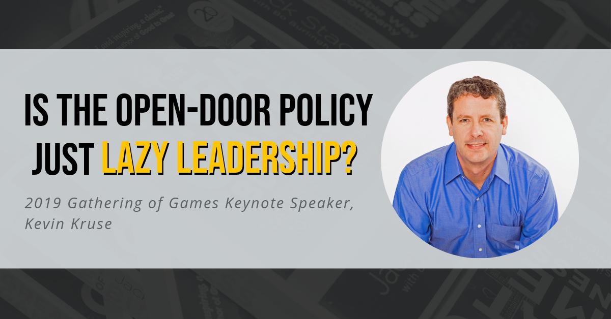 Leadership and open-door policy