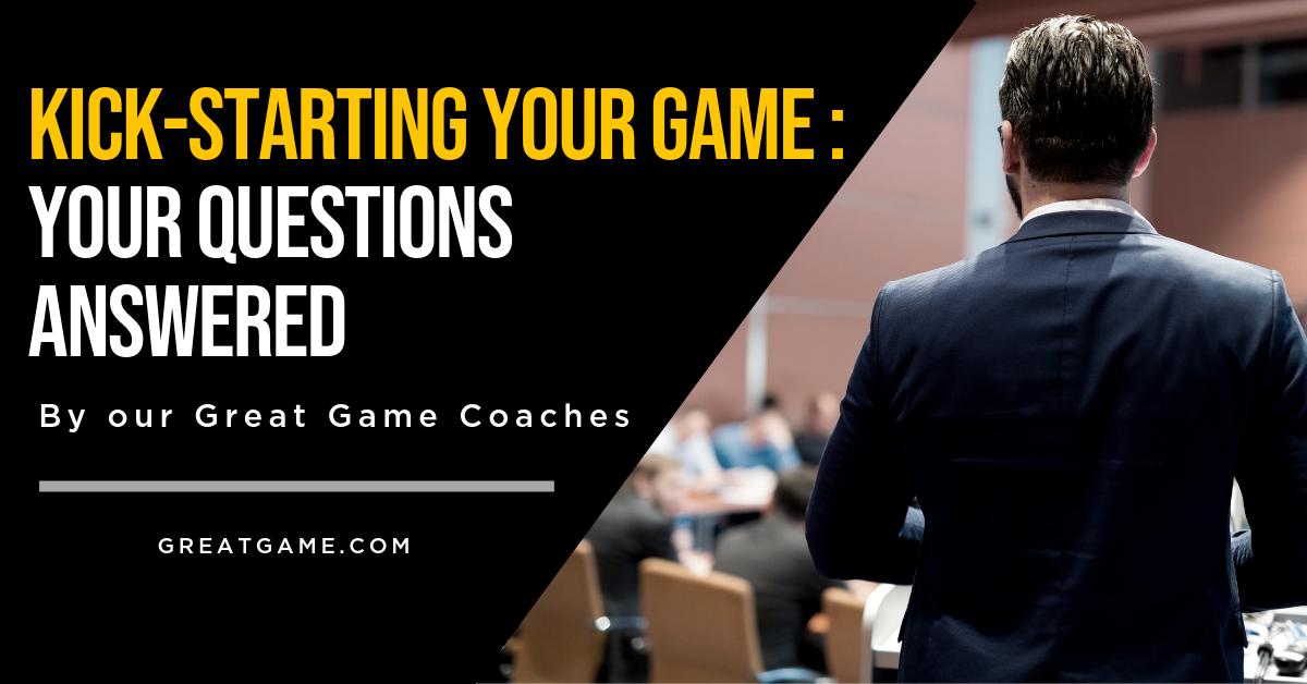 Kickstart coaching blog