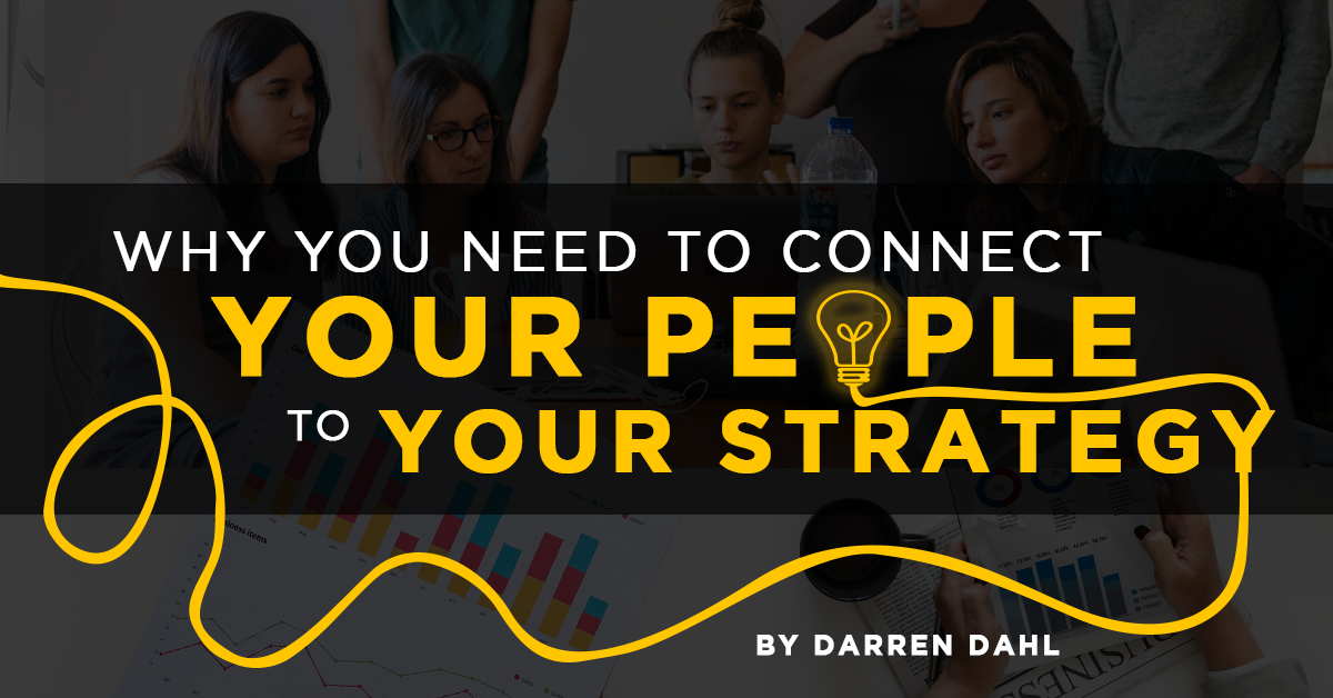 Connecting employees to the business strategy