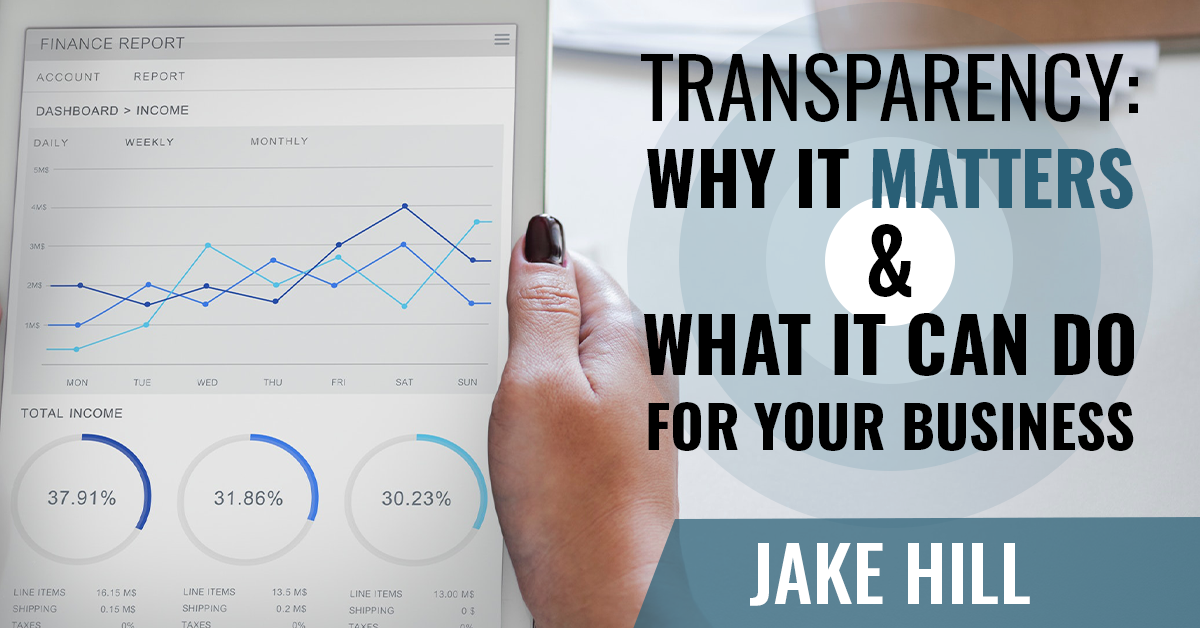 Why does transparency matter in business?