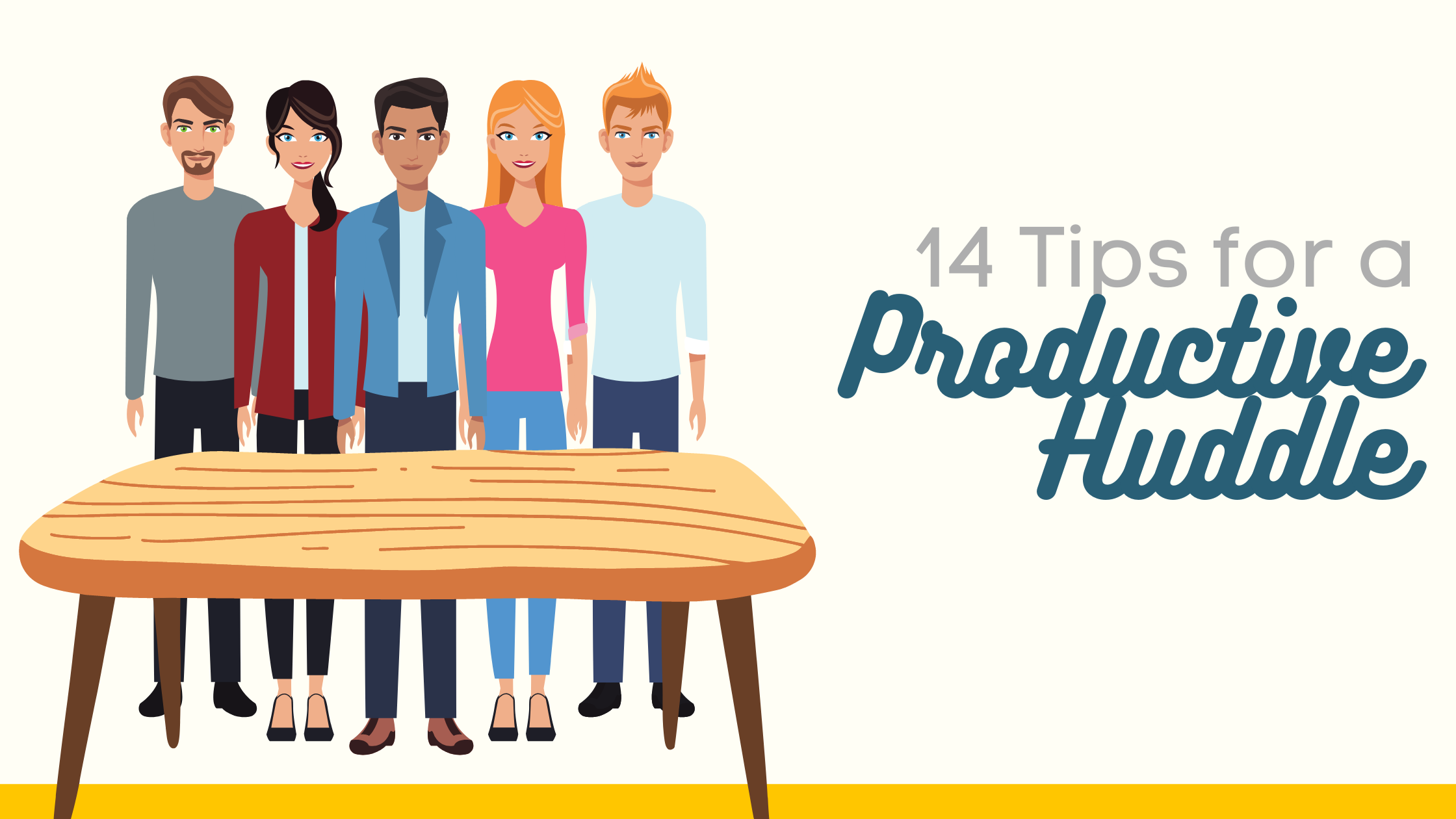 14 Tips for a Productive Huddle