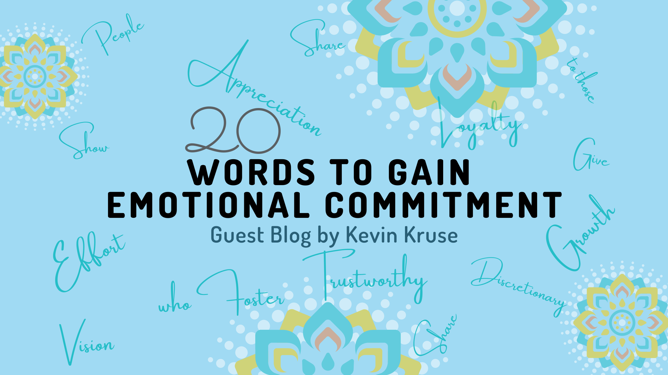 20 words to gain emotional commitment