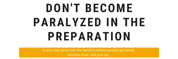 If you become paralyzed in the preparation,