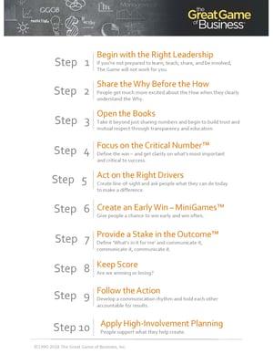 GGOB 10-Step Implementation Guide
