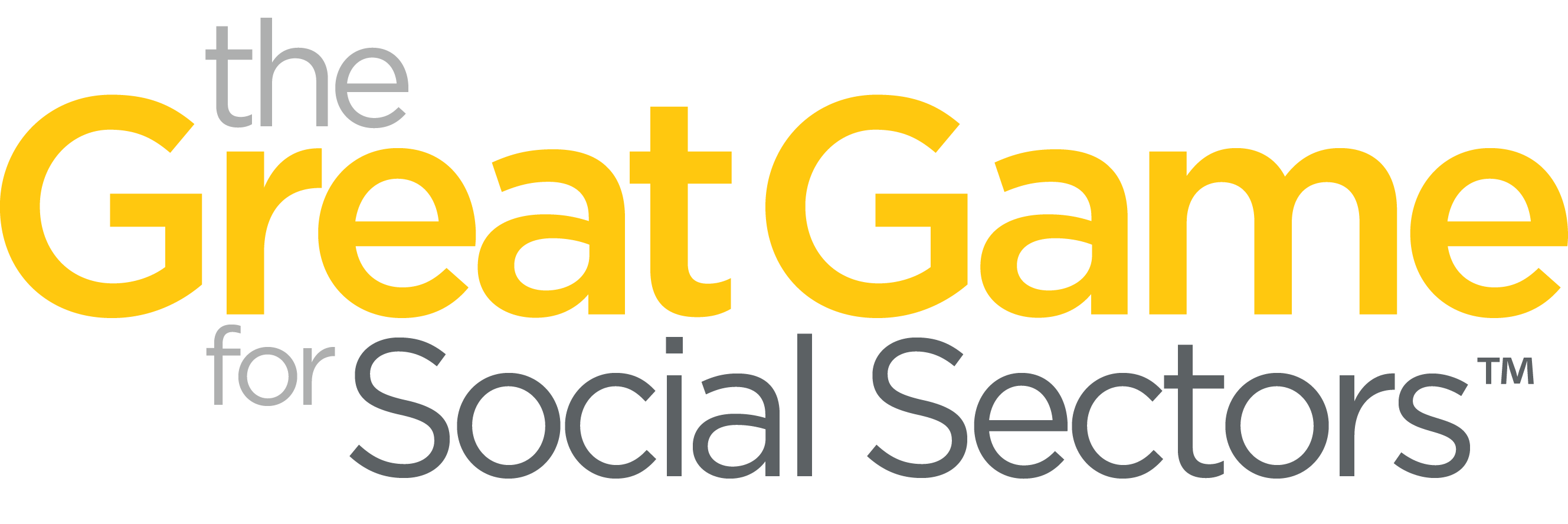 The Great Game for Social Sectors