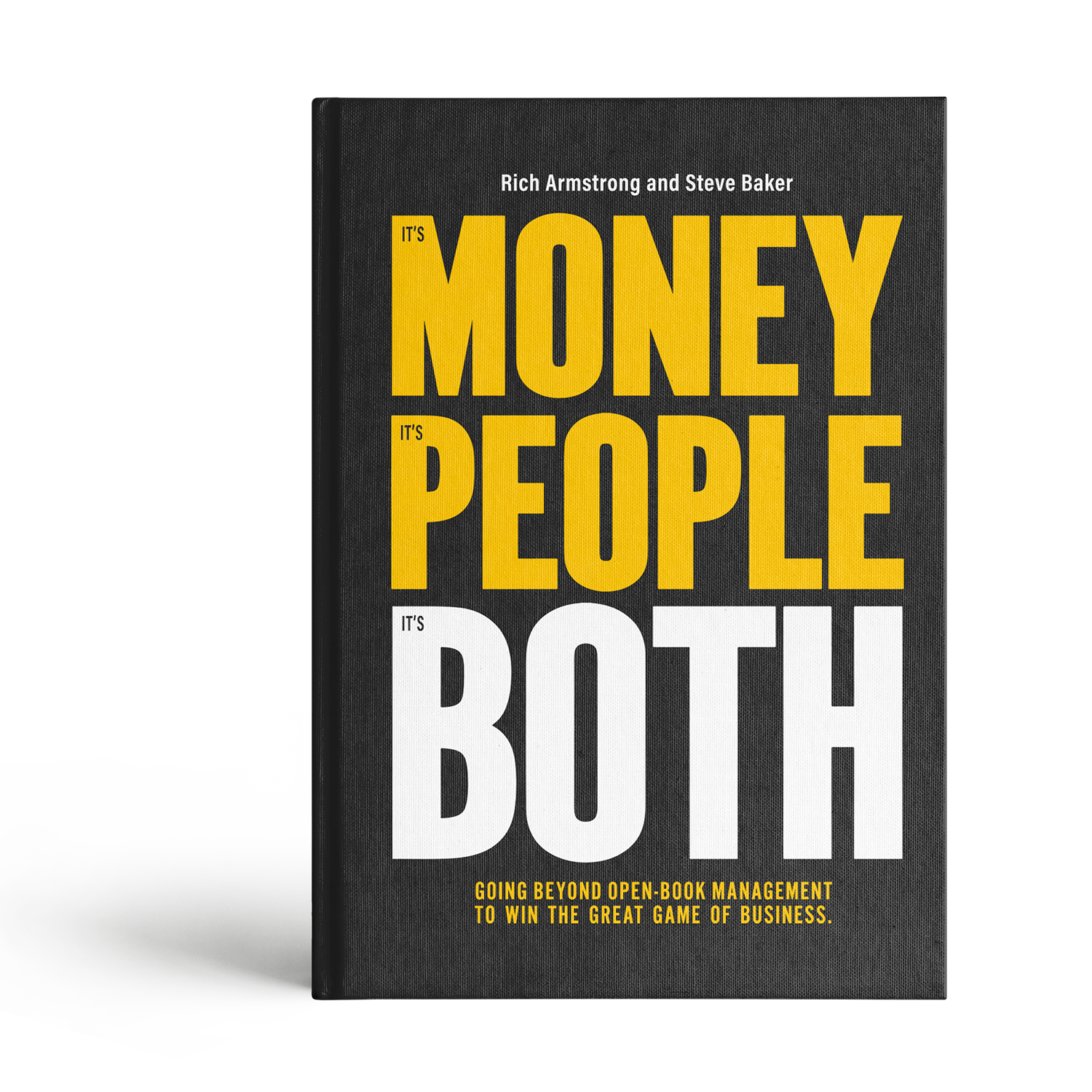 It's Money, It's People, It's Both Book