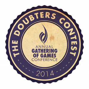 doubters contest logo