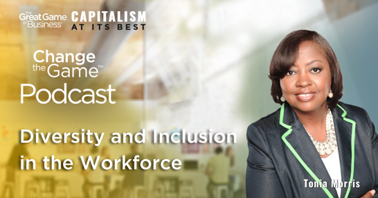 Podcast - Tonia Morris - Diversity and Inclusion in the Workforce