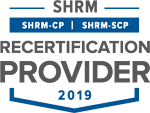 SHRM Recertification Provider CP-SCP Seal 2019