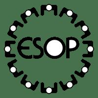 esop black logo