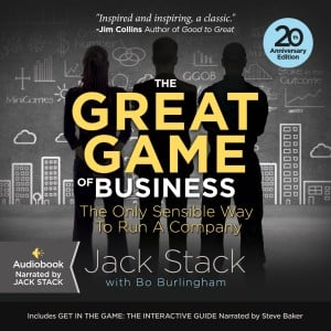 The Great Game of Business AudioBook