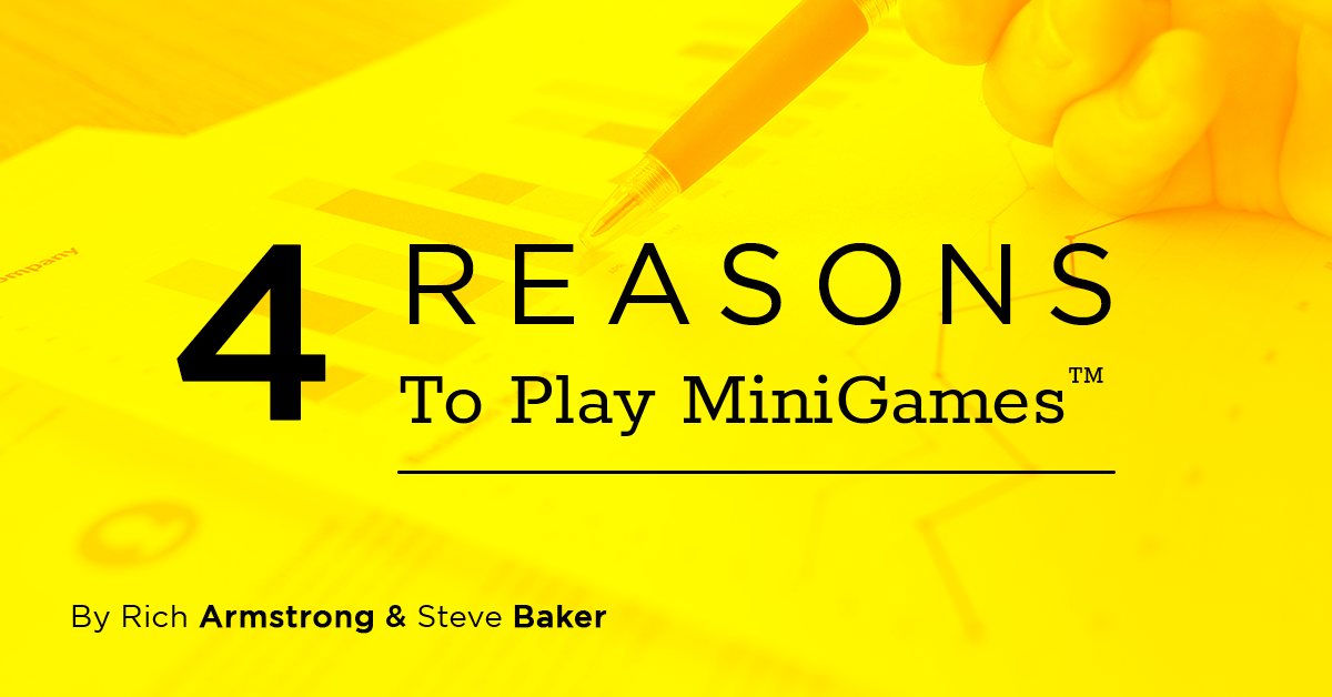 Four Reasons to Play MiniGames™