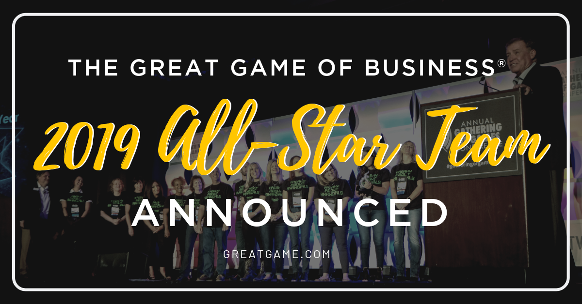 2019 All-Star Team Announced