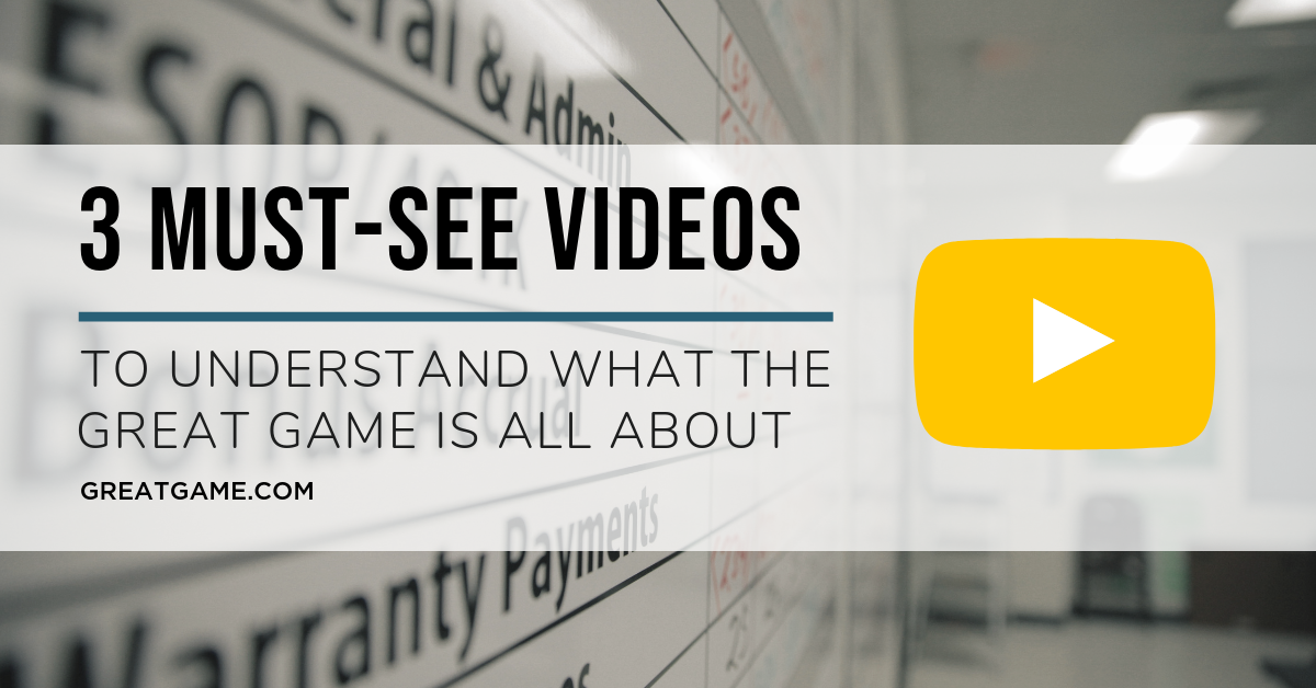 3 Must-See Videos to Understand What Great Game® is All About