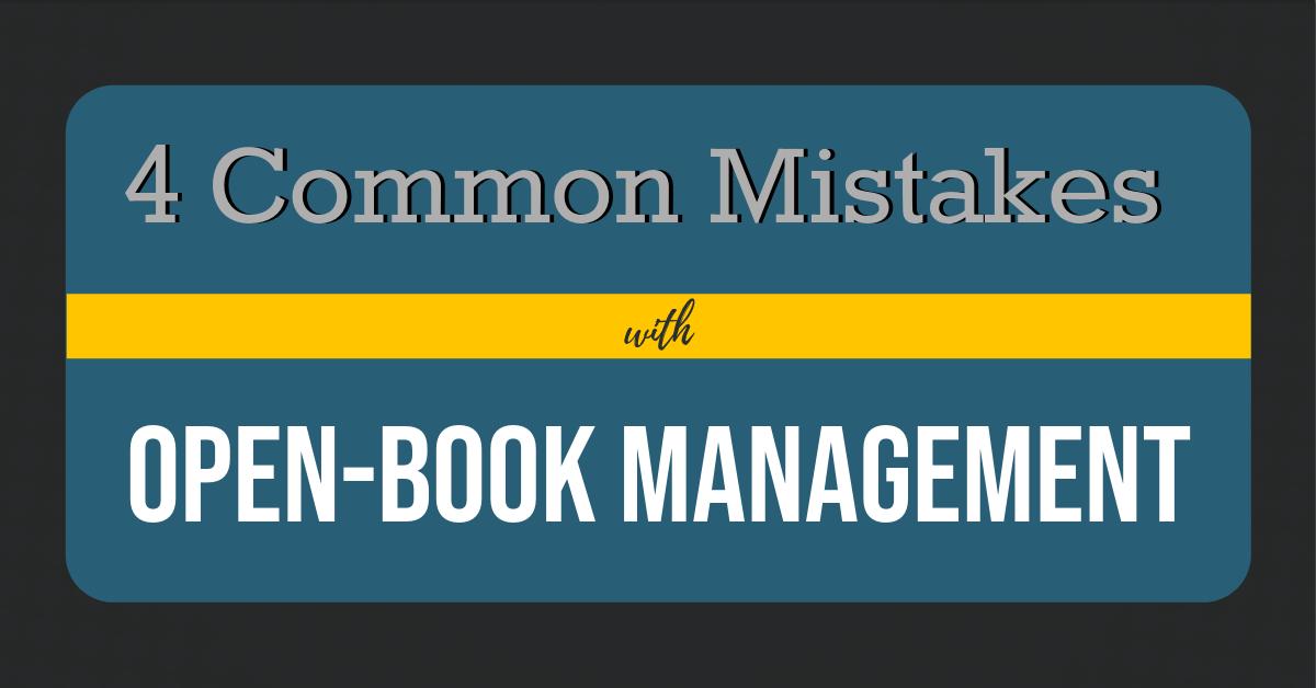 4 common mistakes