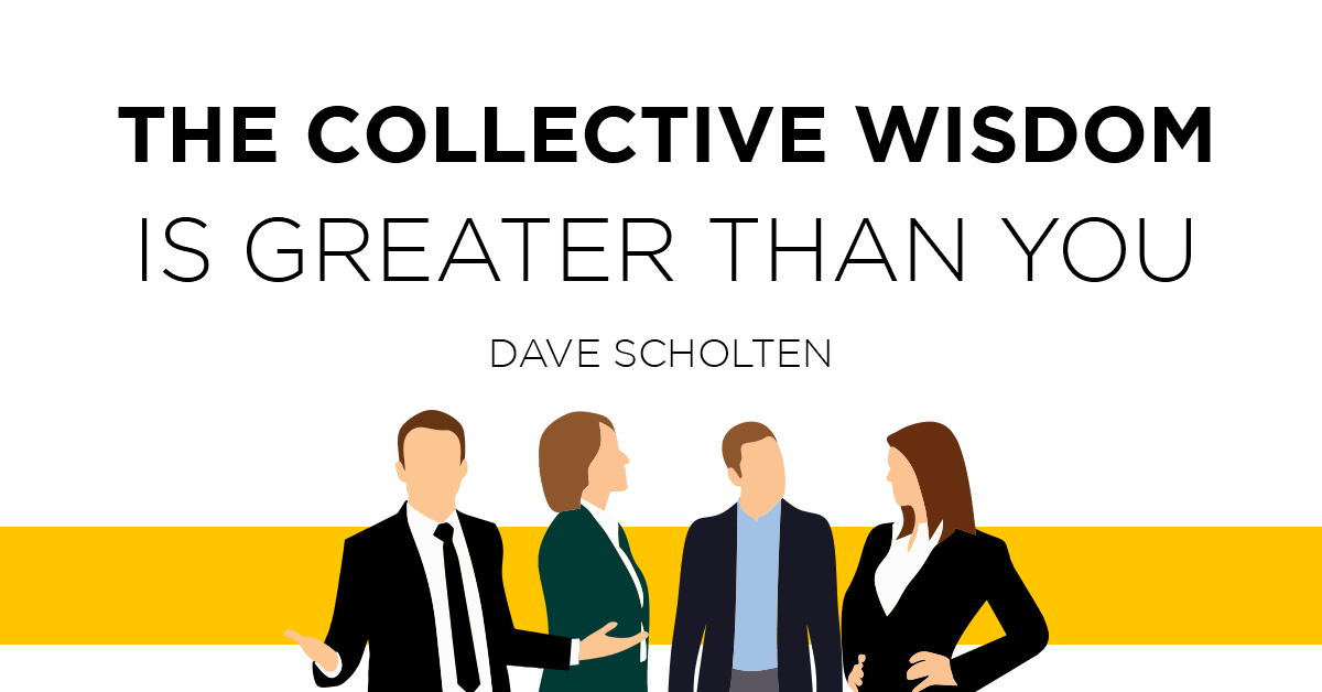 The Collective Wisdom is Greater Than You