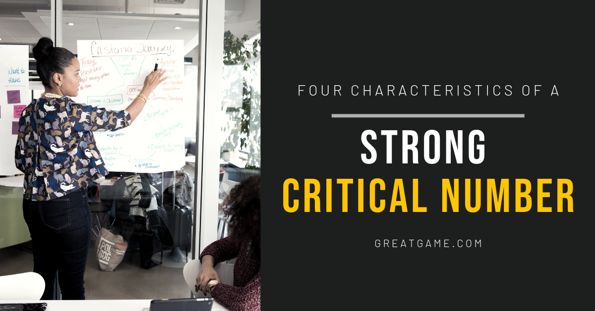 Four Characteristics of a Strong Critical Number