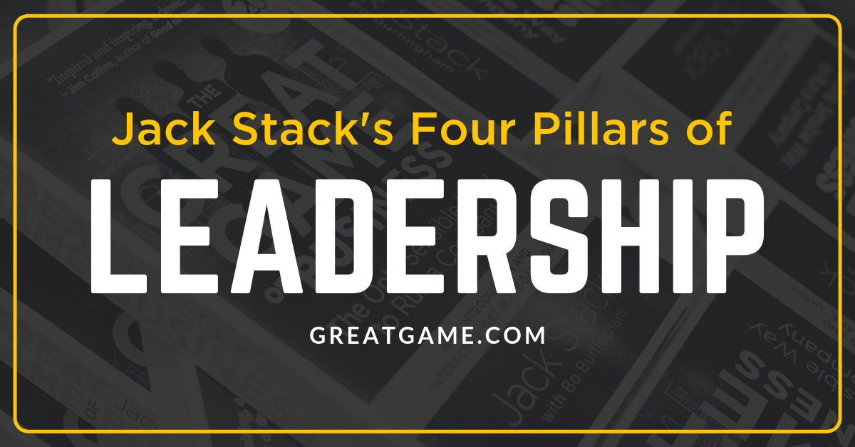 The Four Pillars of Leadership