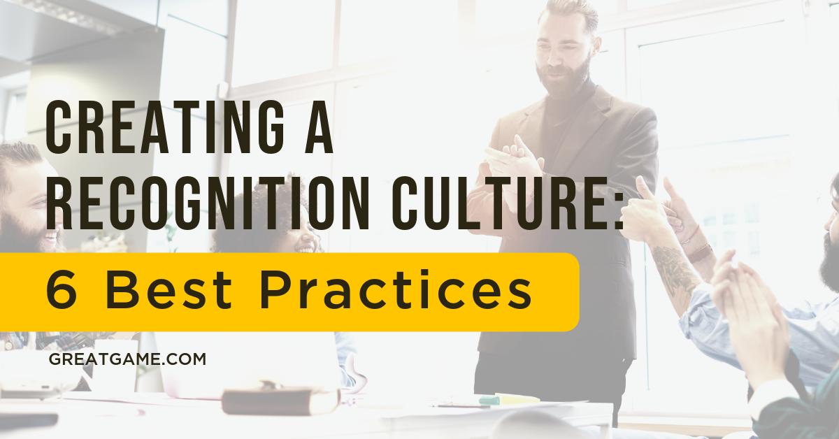 Recognition Culture