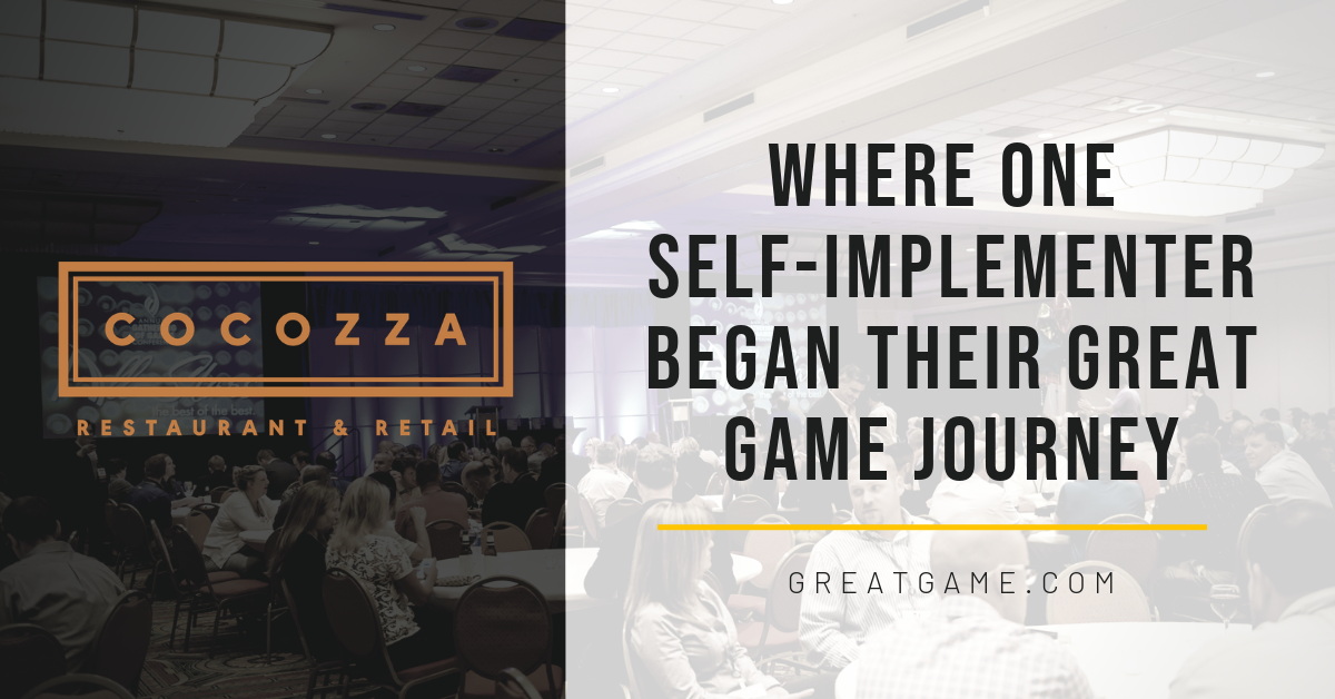 COCOZZA: Where One Self-Implementer Began Their Great Game Journey