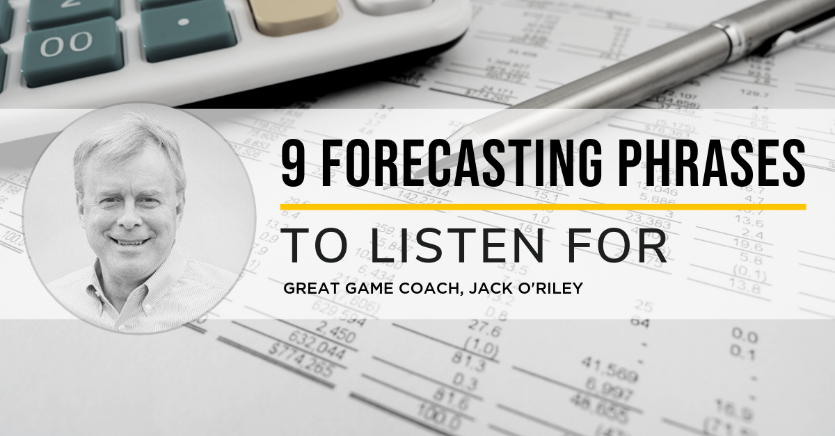 9 Forecasting Phrases to Listen For
