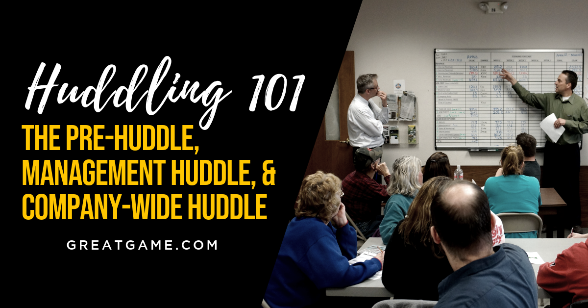 Huddling 101: The Pre-Huddle, Management Huddle, and Company-Wide Huddle