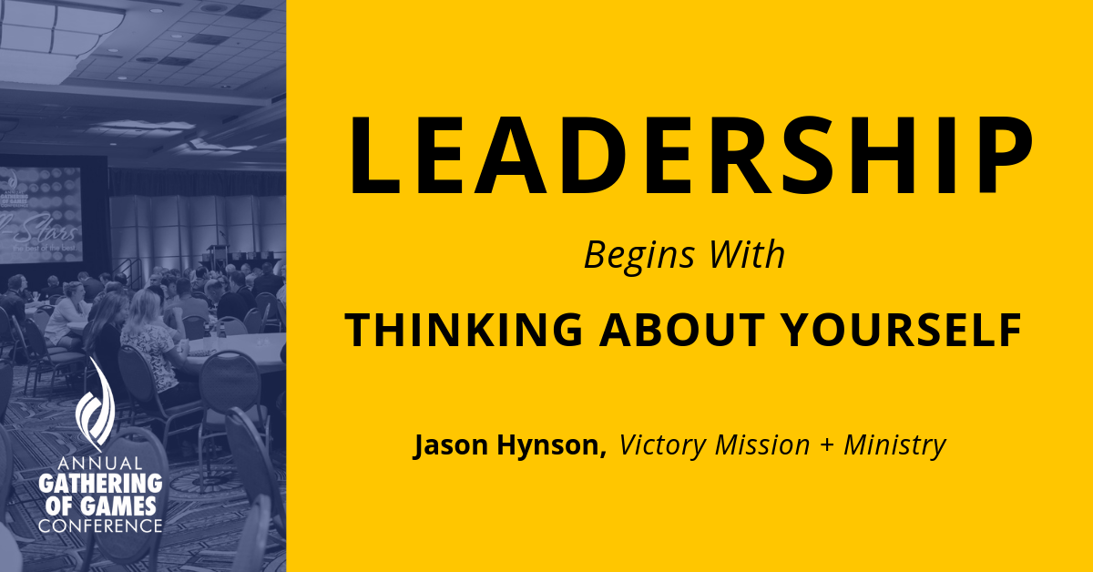 Leadership Begins With Thinking About Yourself