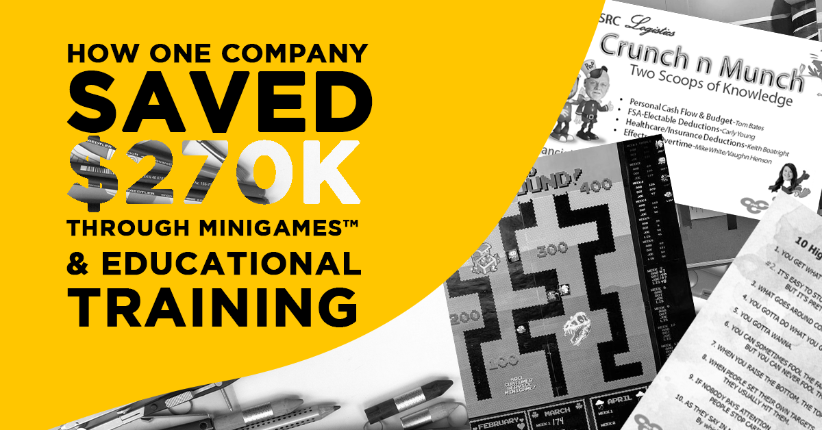 How One Company Saved $270K in MiniGames™ & Educational Training