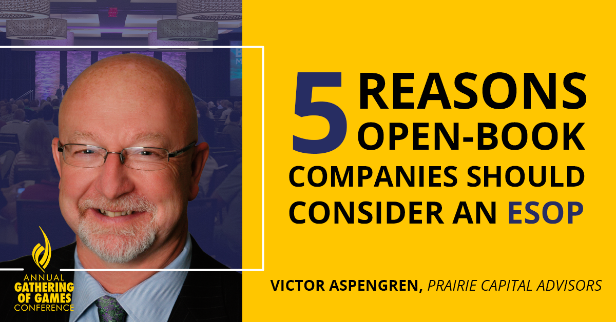 Five Reasons Open-Book Companies Should Consider an ESOP