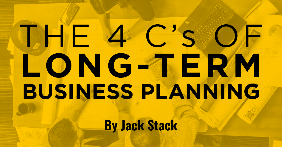 The 4 C's of Long-Term Business Planning