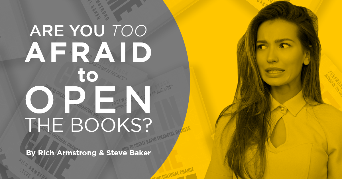 Are You Too Afraid to Open the Books?