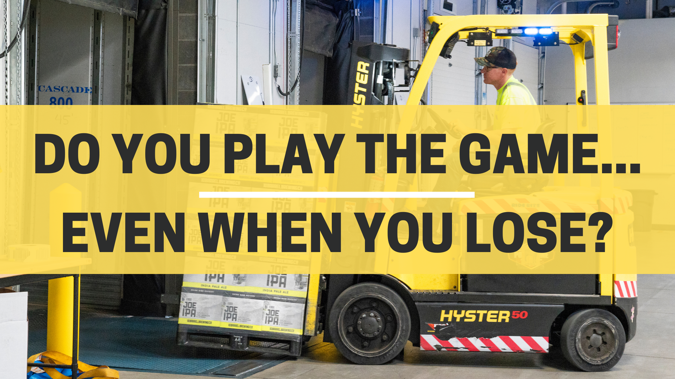 Do You Play The Game...Even When You Lose?