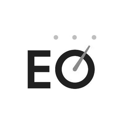 EO logo black