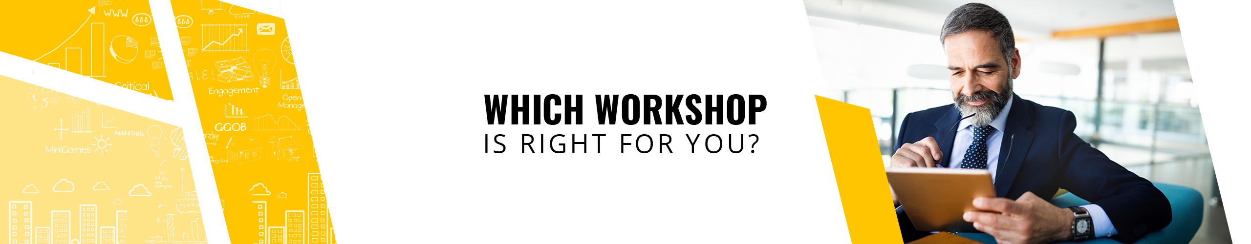 Which workshop is for you - header