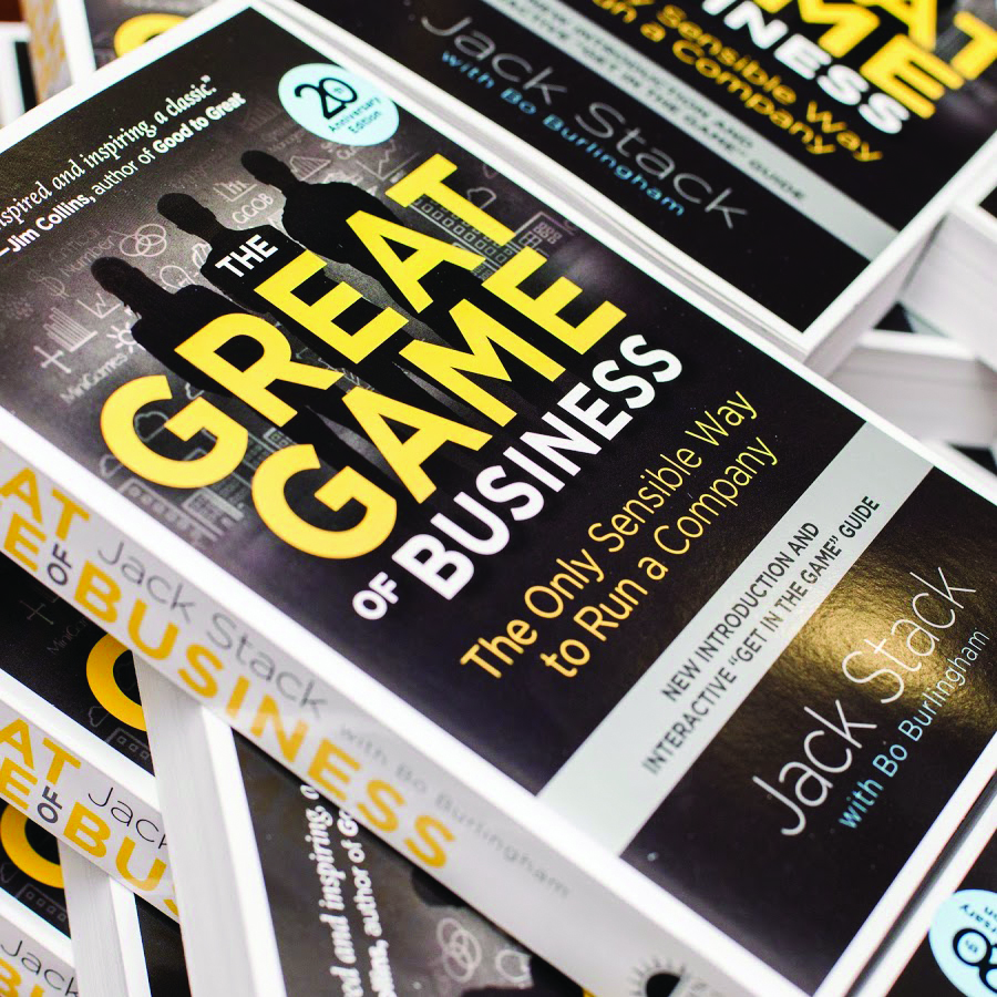 Great Game of Business Books