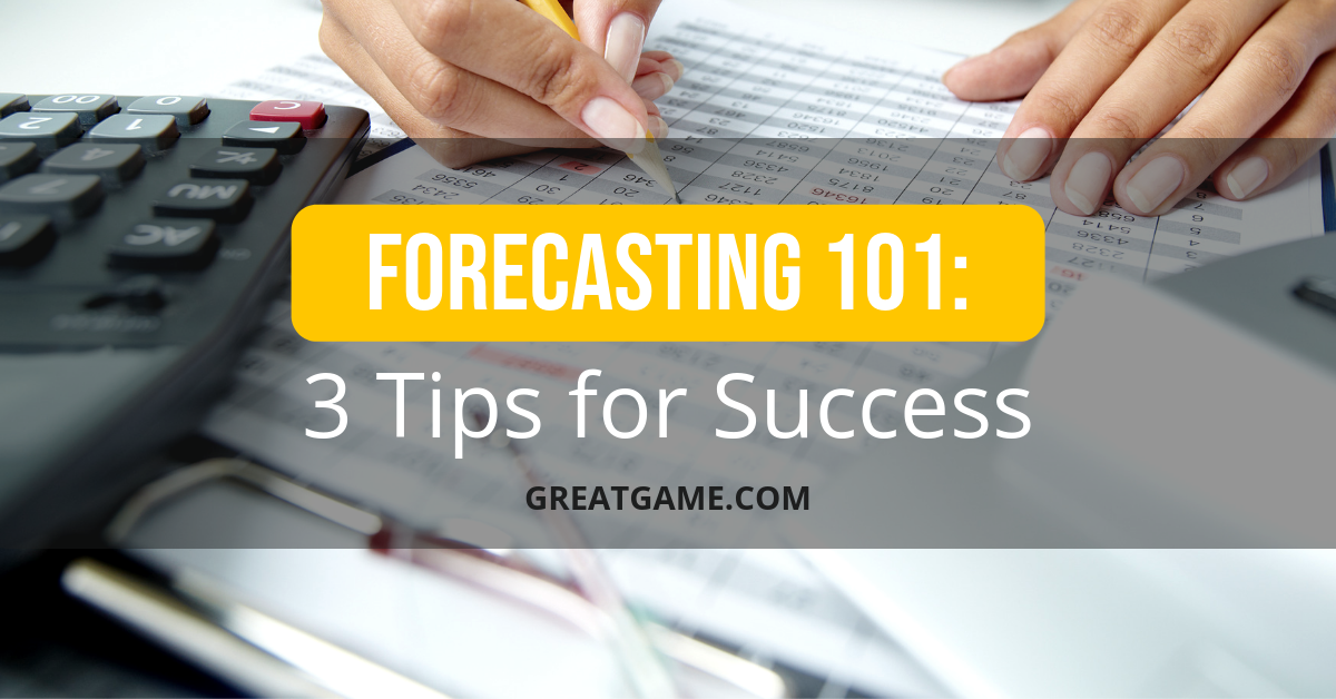 Forecasting 101: 3 Tips for Success