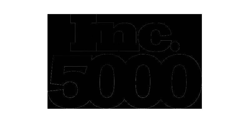 inc 5000 black logo